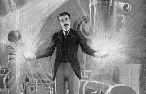 La energía fría de Tesla en acción.