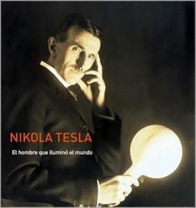 """Tesla con su luz """"fría""""."""