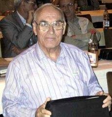 Philipp M. Kanarev, catedrático de Mecánica en la Univesidad de Kuban y inventor de un motor de plasma.