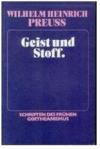 Espíritu y Materia de Wilhelm Heinrich Preuss