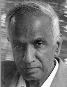 El físico indio Subrahmanyan Chandrasekhar.