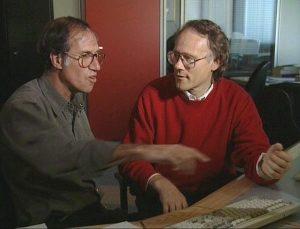 Graham Hancock y Robert Bauval.