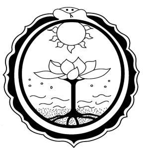 Símbolo del Shivaísmo del Kashmir.