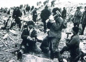 Los campos de reeducación Gulag.