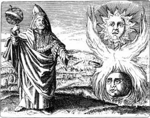 Hermes Trismegistos, representación helénica del Dios Thoth.
