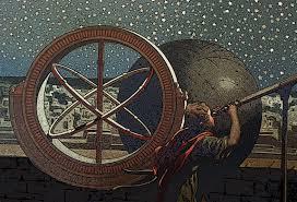 Antiguo astrolabio.