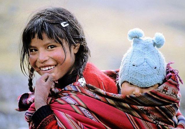 Los Indios Q'eros. Una de las pocas tribus tradicionales que quedan.