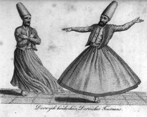Danza sufi derviche.
