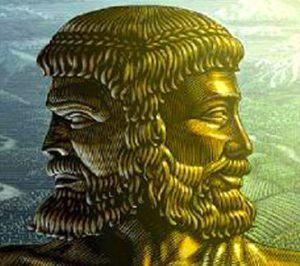 """La Doble Cabeza de Janus como metáfora de la """"supuesta"""" dualidad onda-partícula de la luz. ¿ Mera abstracción sin sentido?"""