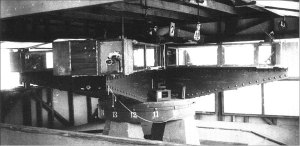 Interferómetro mejorado usado por Dayton Miller en sus experimentos en los años 20.