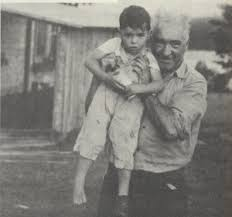 Wilhelm Reich con su hijo, Peter.
