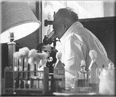 Reich y su microscopio