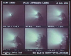 La energía emitida por los cometas, no se debe a un gas ionizado, sino a la enorme energía que adquiere el plasma que necesariamente tiene que proveer con la interacción con un campo de enorme energía.