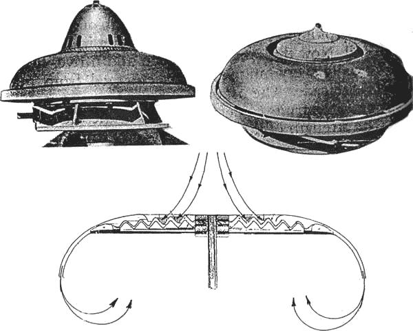 Muchos han especulado que los OVNIS basados en motores de implosión de Viktor Schauberger podían ser propulsados por energía orgónica. La forma orgánica de los mismos, nos hace pensar en ello.