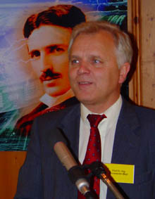 El polémico físico, Konstantin Meyl.