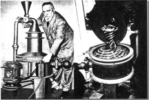 Sistema implosionador de agua de Viktor Schauberger.