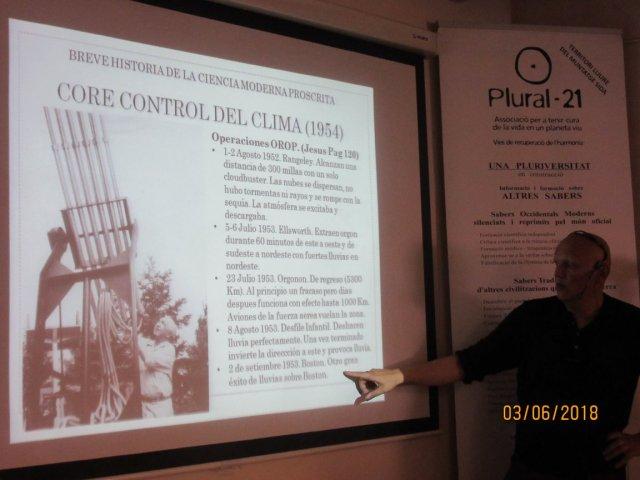"""Seminario Sobre Wilhelm Reich del Curso """"Breve historia de la ciencia moderna proscrita"""" en la fundación Plural 21."""